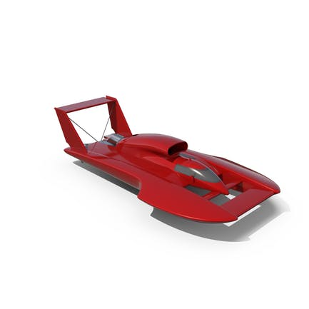 Hydroplane Racing Boat
