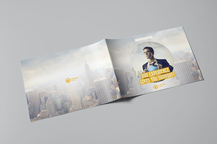Cover Image For Business Horizontal Brochure
