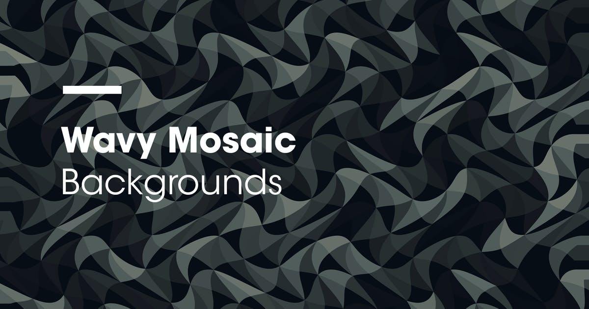 Download Wavy Mosaic | Backgrounds by devotchkah
