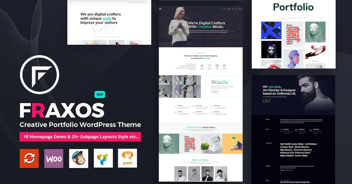 Download Fraxos - Creative Portfolio WordPress Theme    Typ by VictorThemes