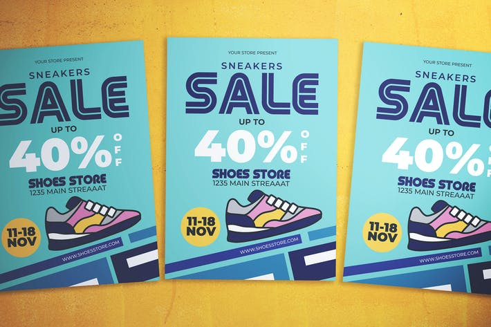Thumbnail for Shoes Sale Flyer