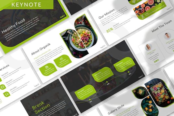 Organik - Healthy Keynote Template