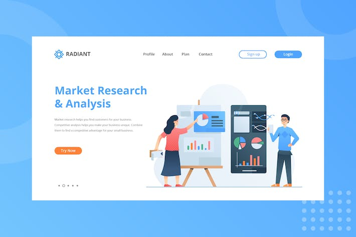 Thumbnail for Market Research & Analysis Landing Page