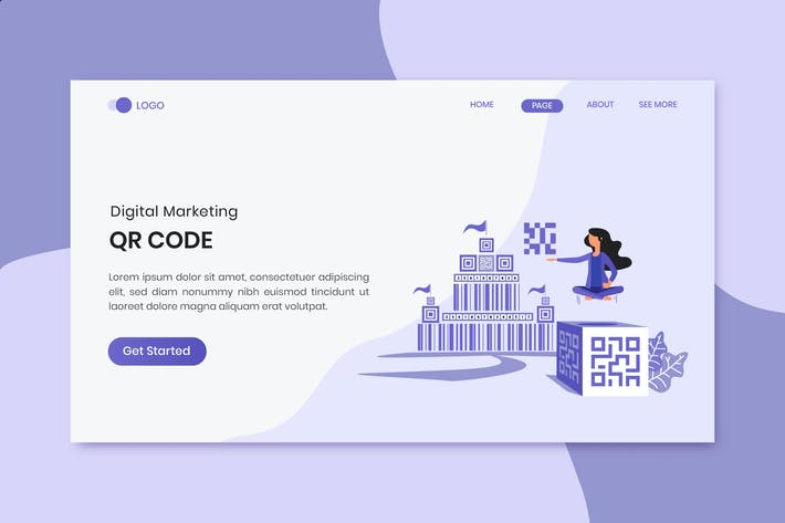 Thumbnail for QR Code Marketing Landing Page