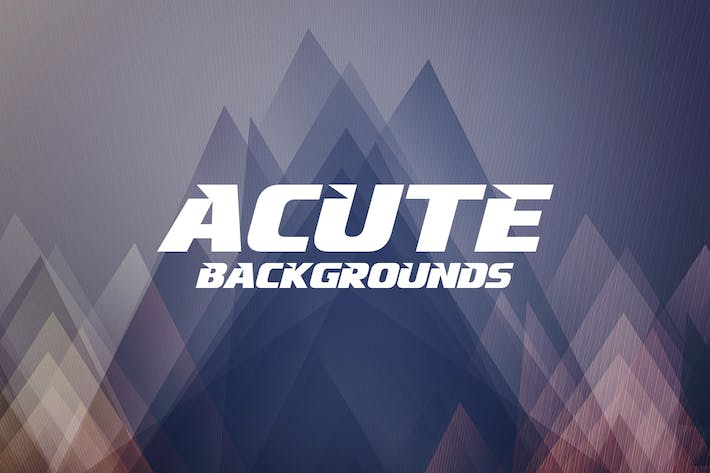Cover Image For Abstract Acute Backgrounds