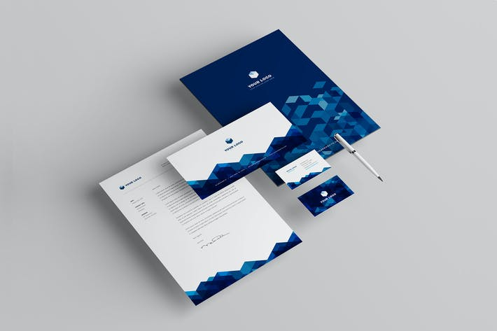 Thumbnail for Modern Business Stationery