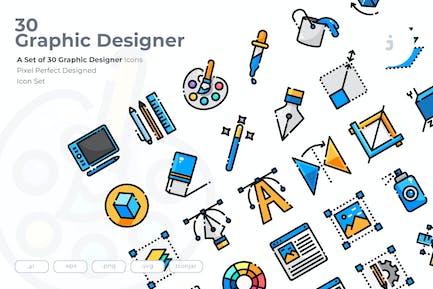30 Graphic Design Icons