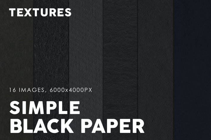 Thumbnail for Black Simple Paper Textures