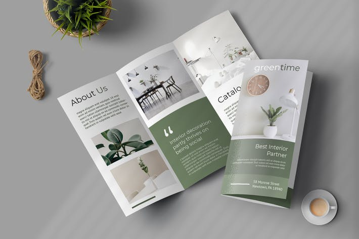 Cover Image For Properties Trifold Brochure Promotion