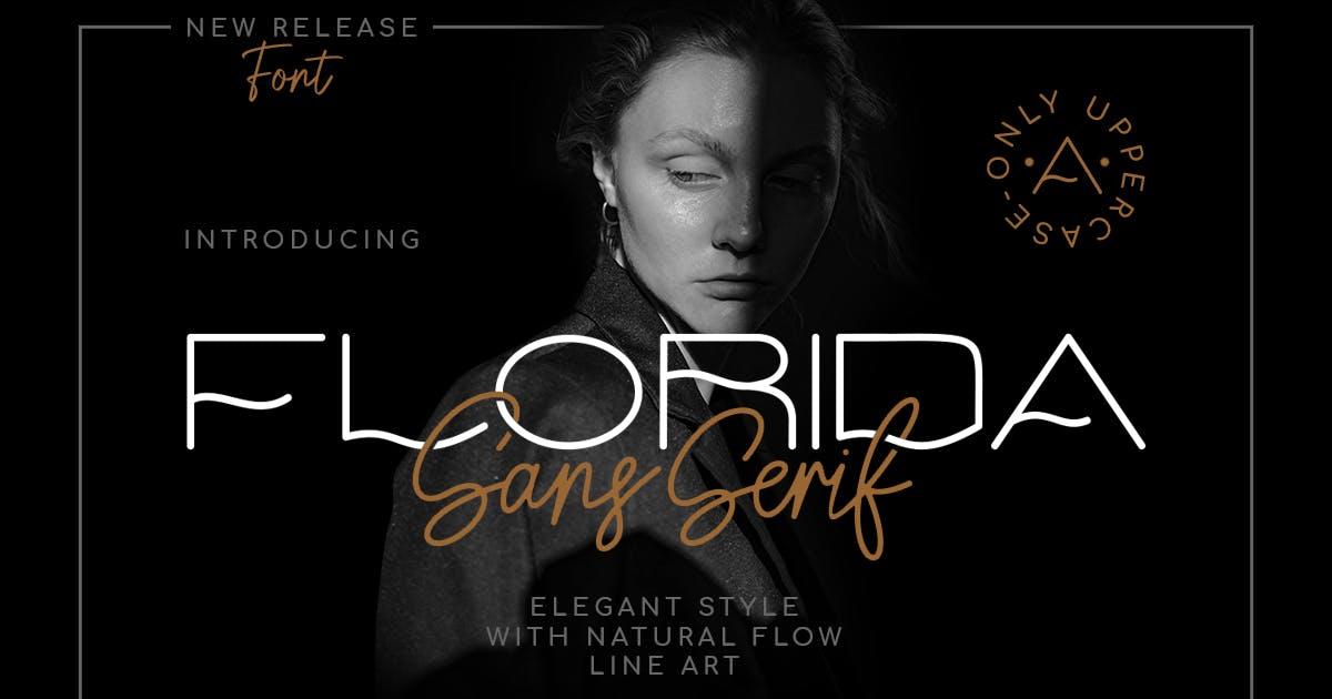 Download Florida | Elegant Sans by Muntab_Art