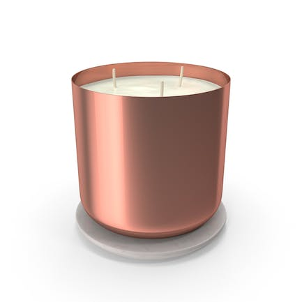 Scented Candle Big Metal Copper