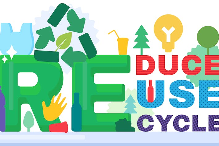 Thumbnail for Recycle Waste Banner