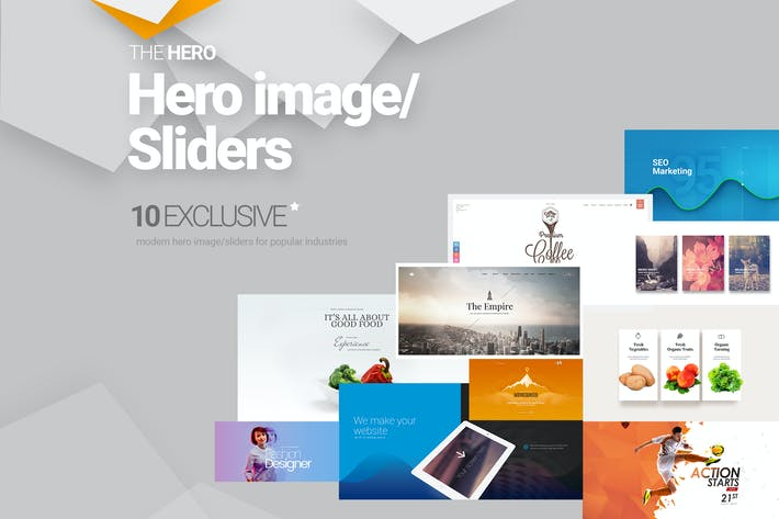 Thumbnail for The Hero Image and Slider Bundle