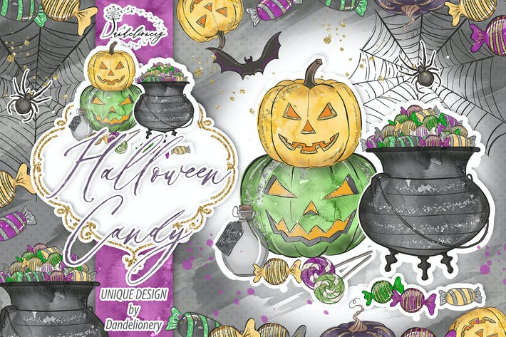 Thumbnail for Cute Halloween design