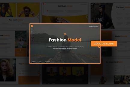 Fashion Model - Google Slide Template