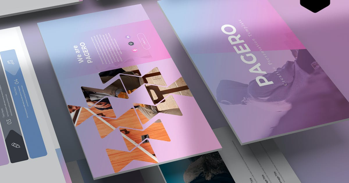 Download Pagero - Keynote Template by aqrstudio