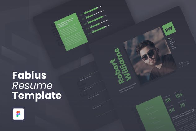 Fabius - Resume / CV Website Template