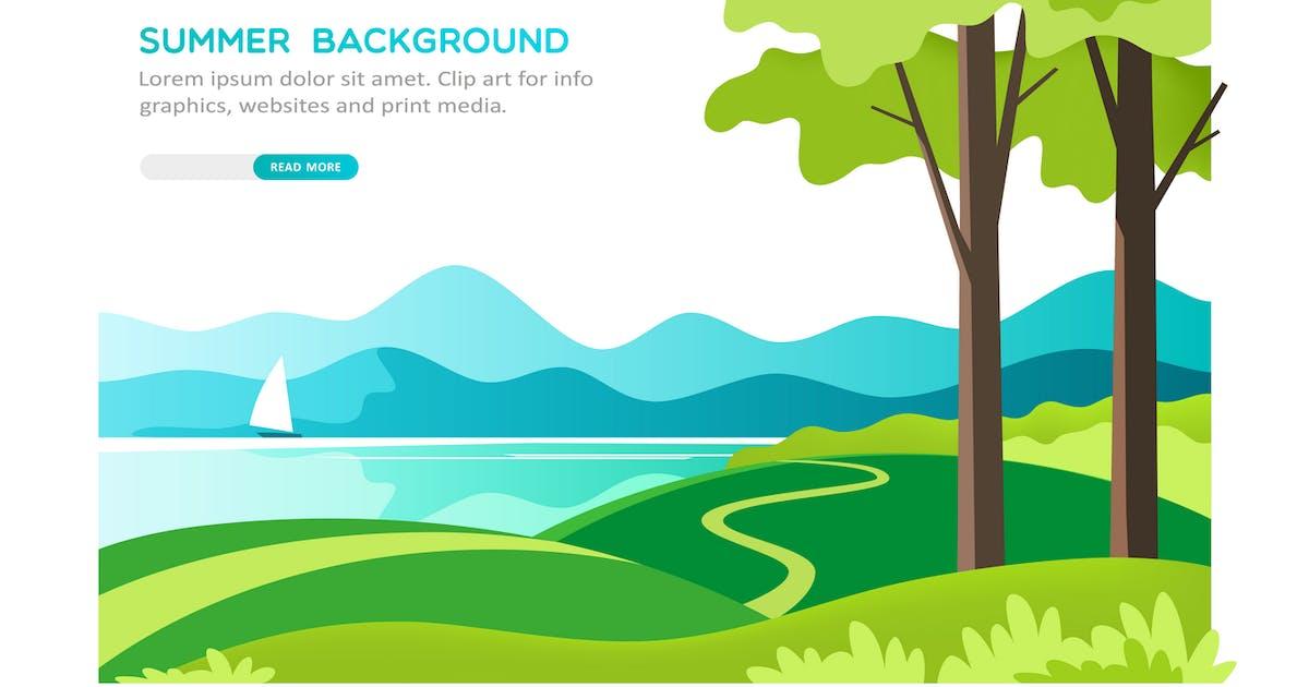 Download Summer Landscape by Faber14