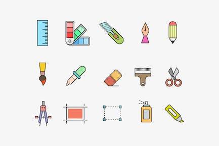 15 Design Tool Icons