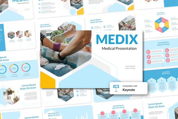 Thumbnail for MEDIX - Medical Keynote Template