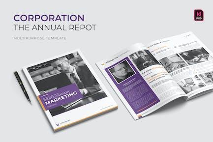 Corporation Pro | Annual Report
