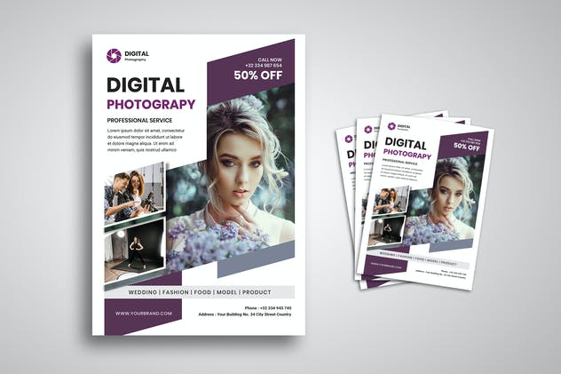Digital Photography Flyer