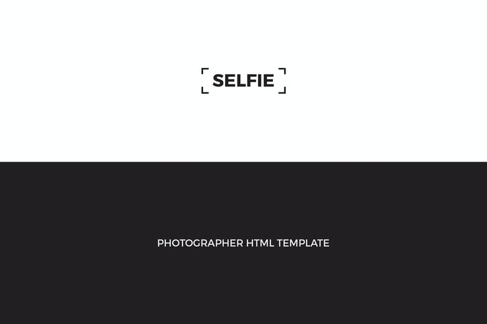 Thumbnail for SELFIE : Personal Photographer HTML Template