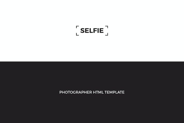 SELFIE : Personal Photographer HTML Template