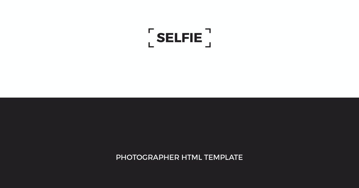 Download SELFIE : Personal Photographer HTML Template by mutationthemes