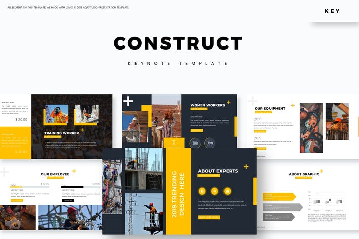 Thumbnail for Construct - Keynote Template
