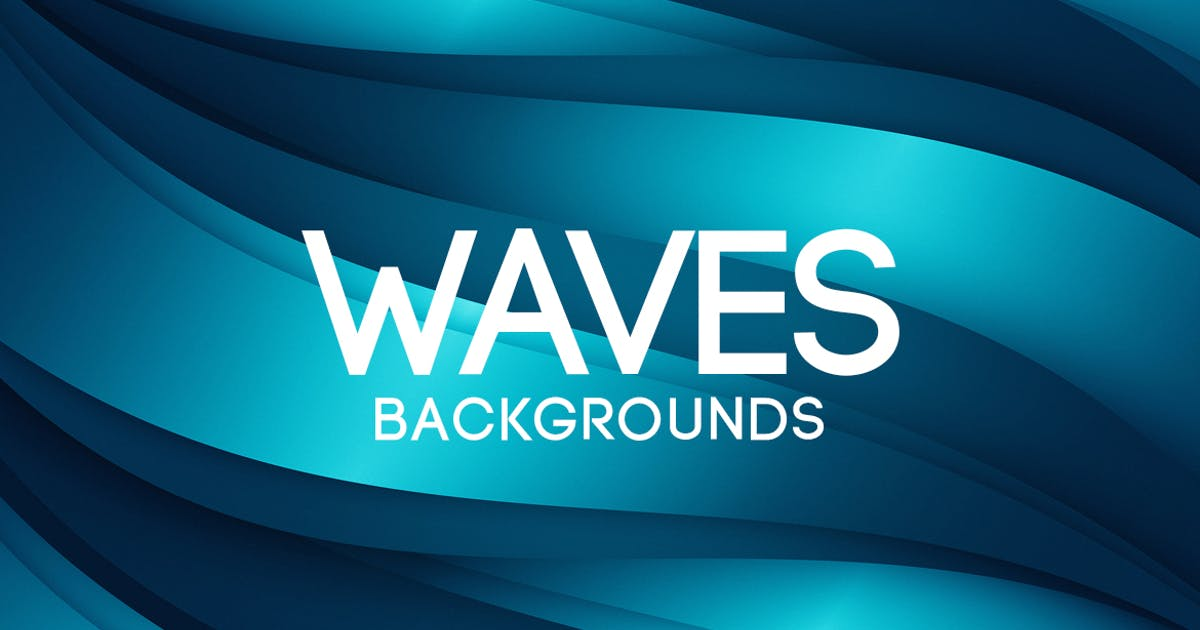 Download Abstract Waves Backgrounds by themefire