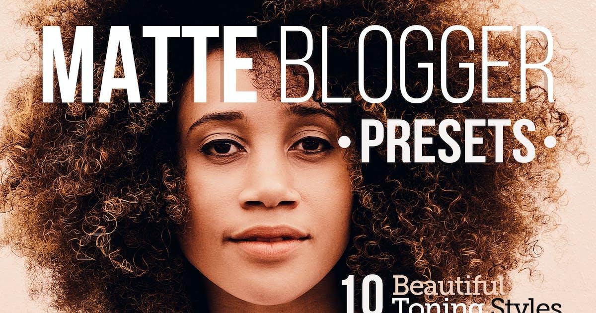 Download Matte Blogger Presets for Lightroom & ACR by Presetrain