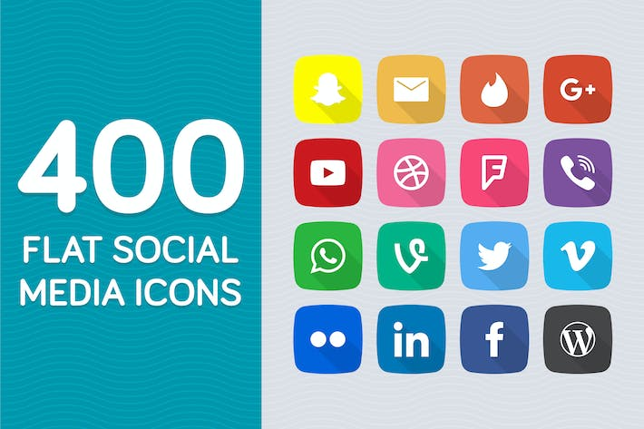 Cover Image For Social Media Icons