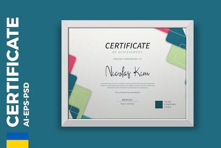 Professional Certificate / Diploma Template