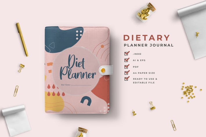 Thumbnail for Gracia -  Dietary Planner Journal