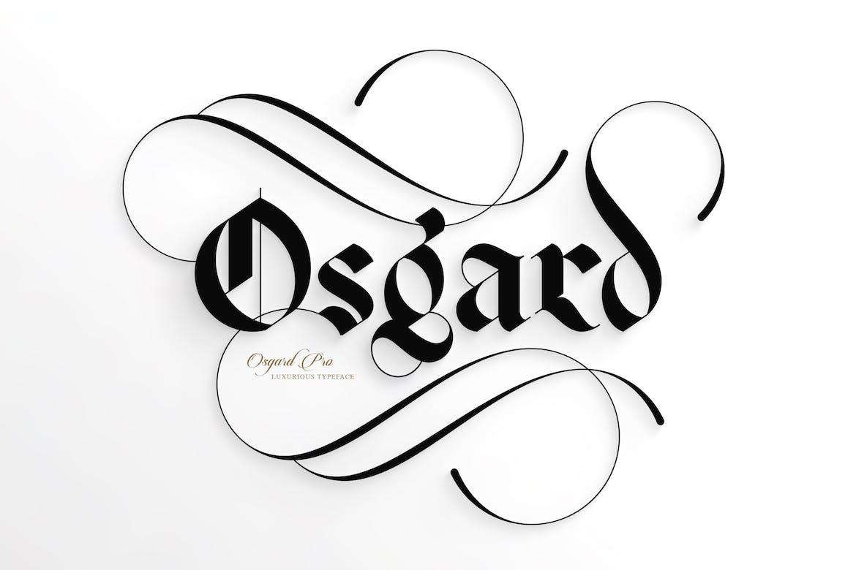 Osgard-Pro-|-Font