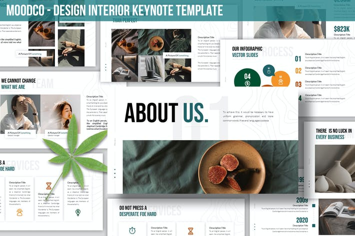 Thumbnail for Moodco - Design Interior Keynote Template