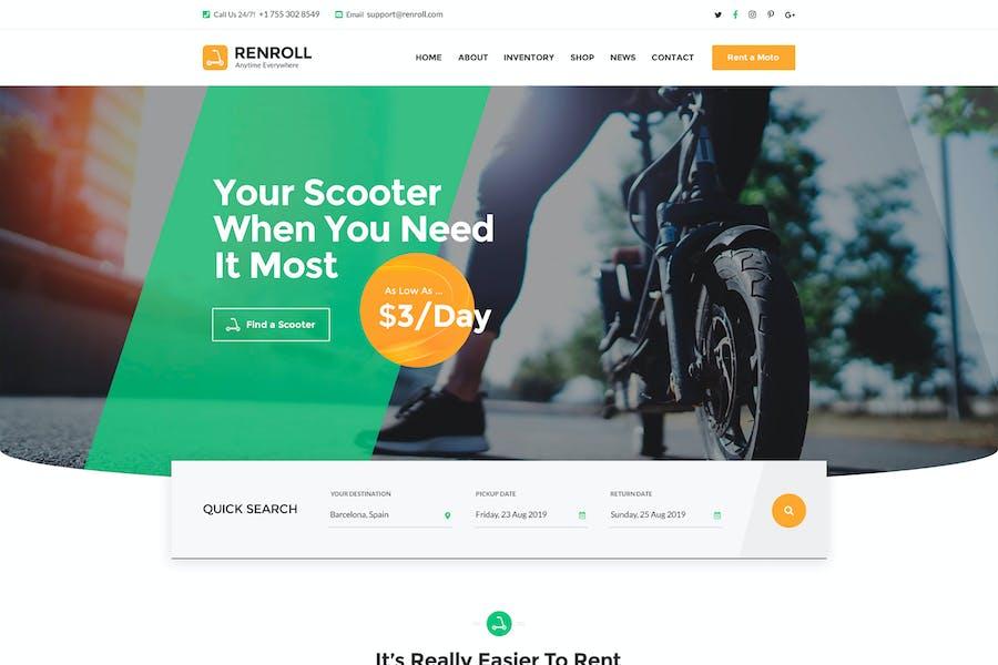 Renroll - Scooter Rental PSD