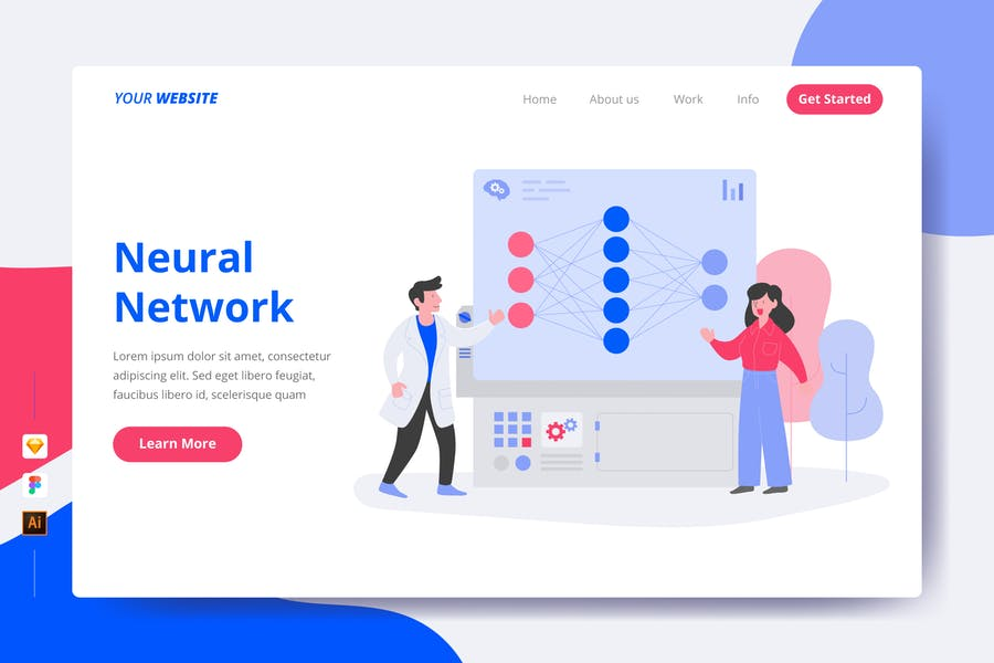 Neural Network - Landing Page