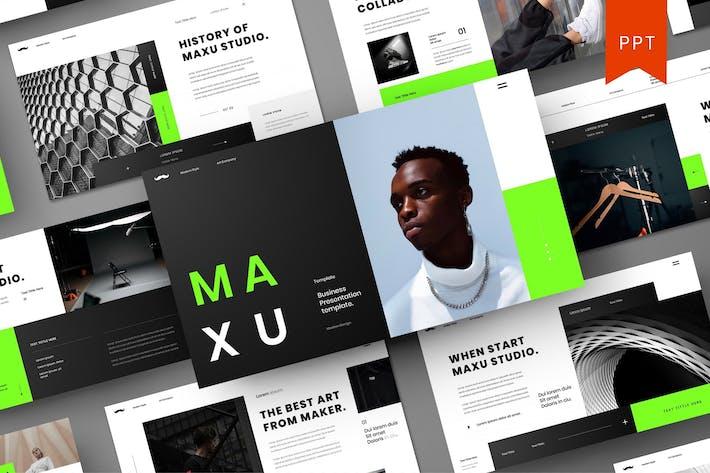 Thumbnail for Maxu — PowerPoint für Unternehmen