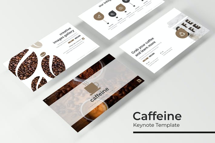 Thumbnail for Caffeine - Keynote Template