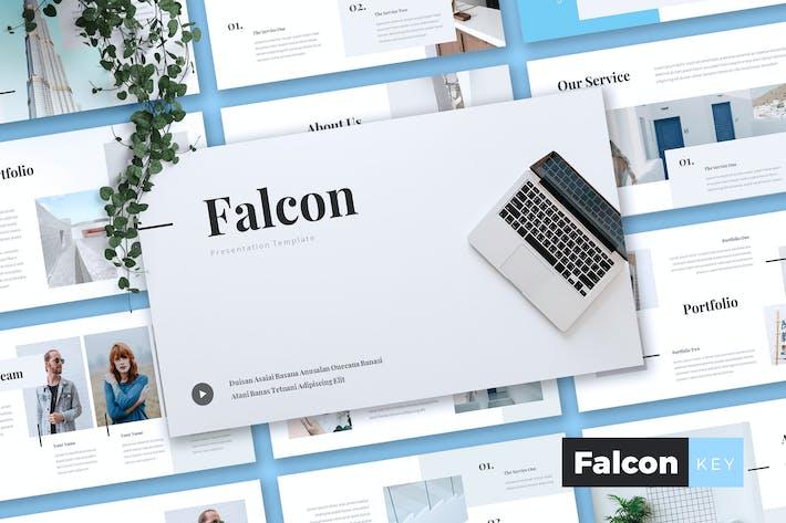 Thumbnail for FALCON - Company Profile Keynote Template