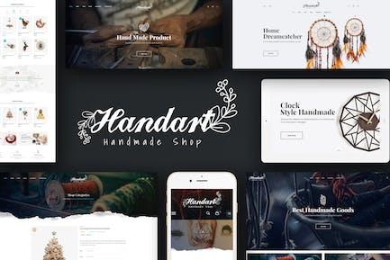 HandArt - Prestashop 1.7 Theme for Handmade Artist