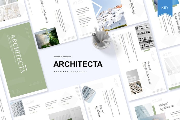 Thumbnail for Architecta | Keynote Template