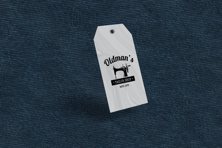 Thumbnail for Clothing Tag Product Mockup V3