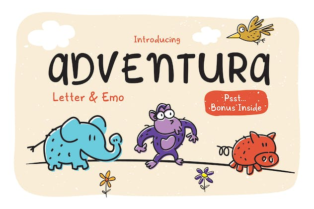 Adventura Letter & Emo - product preview 0