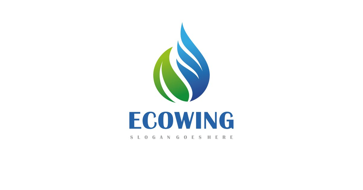 Download Eco Wing Logo by 3ab2ou