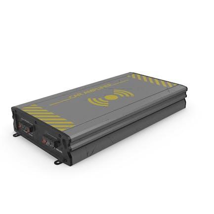 Car Amplifier Grey Used
