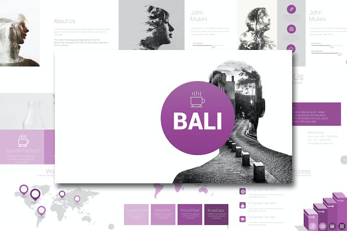 Cover Image For BALI Google Slides