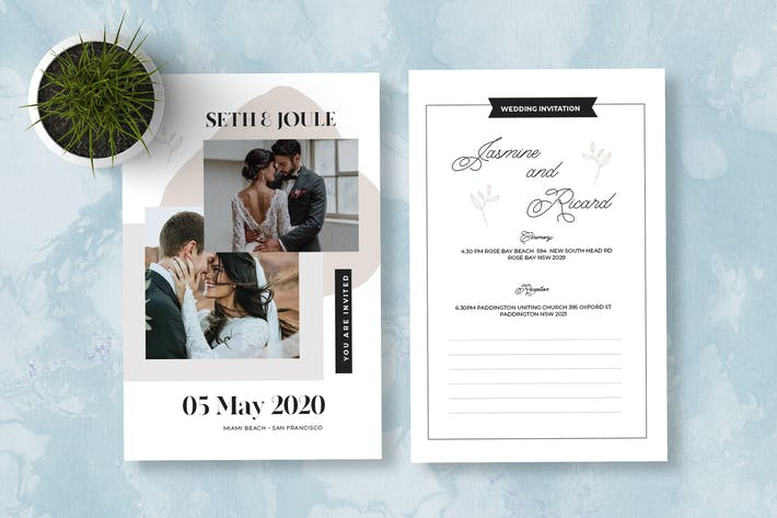 Cover Image For Invitation simple